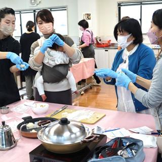 料理教室&実演の写真ギャラリー
