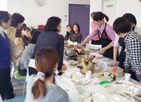 料理教室&実演風景