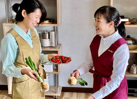 料理の様子